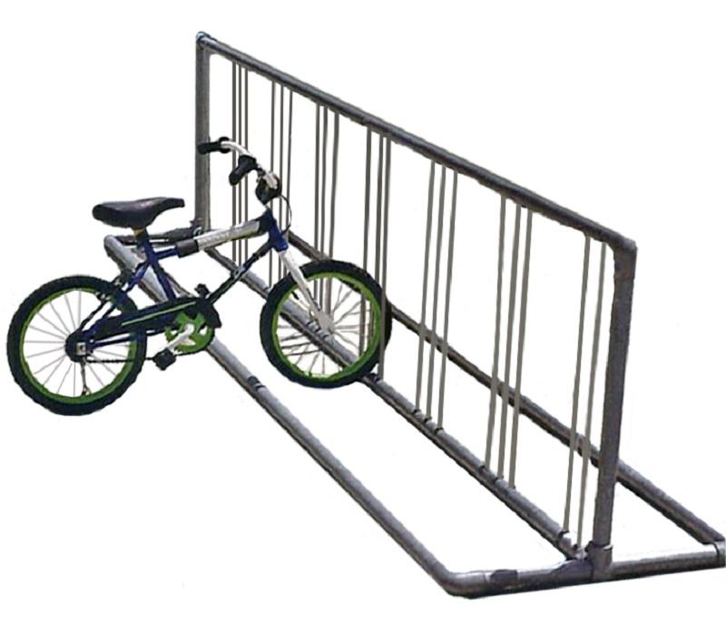 top rack bycicle storage deck bike leonardo single vertical